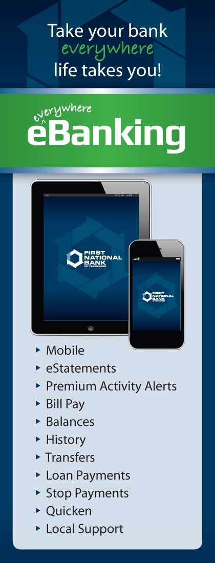 Online & Mobile Banking | Tennessee - TN | First National Bank of